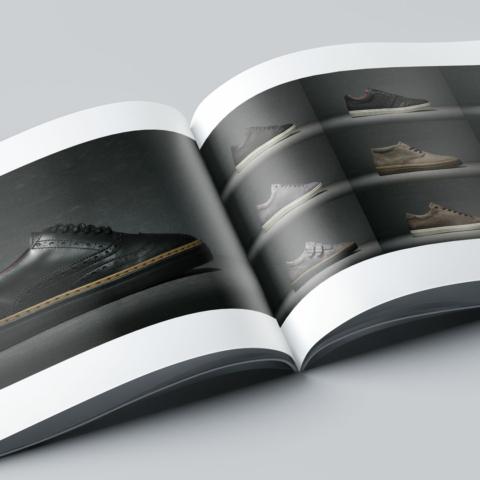 Ontwerp Brochure B Shoes Amsterdam 10804