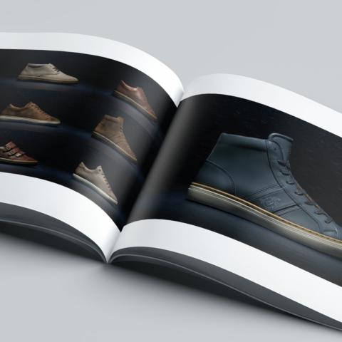 Ontwerp Brochure B Shoes Amsterdam 10805