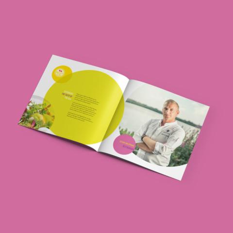 brochure ica supermarket receptengerechten boek 10802
