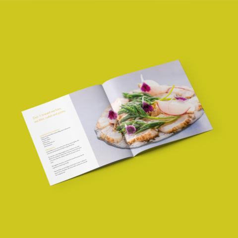 brochure ica supermarket receptengerechten boek 10804