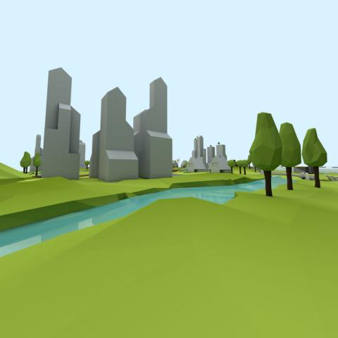 sustainable urban delta visual 3d 10806