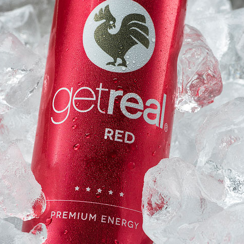 Productfotografie Get Real Premium Energy Drink