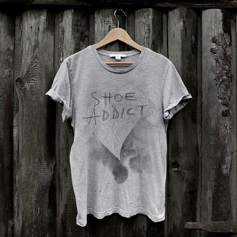 Ontwerp T-shirt Rehab Footwear