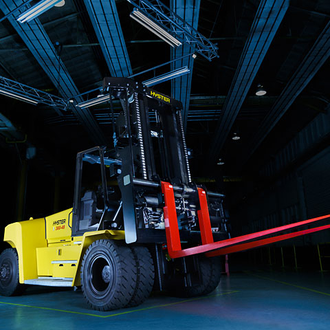 Productfotografie Rexnord Heftruck Hyster